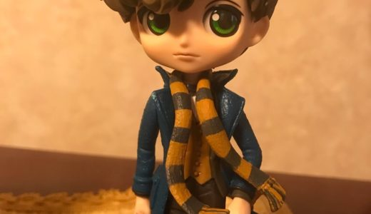 Japanese claw machine (game center) 〜I got fantastic beast figure 〜